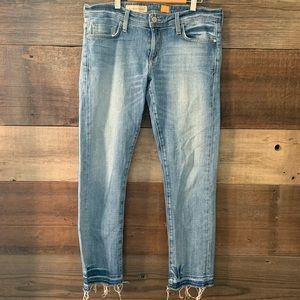Pilcro And The Letterpress Hyphen Cropped Jeans